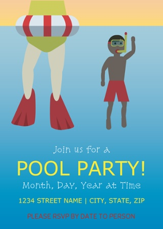 E-vite Pool Party for Kids